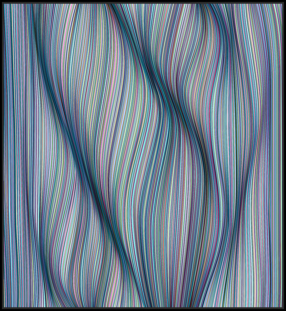 , 'Curved by Tension,' 2018, StolenSpace Gallery