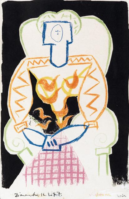 Pablo Picasso, 'La Femme au Fauteuil', 1947, New River Fine Art