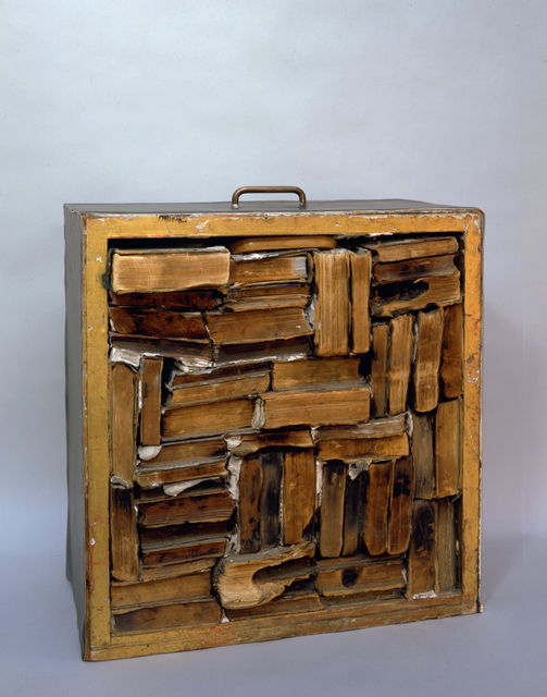 , 'Drawer with Charred Material,' 1960, Modern Art Oxford