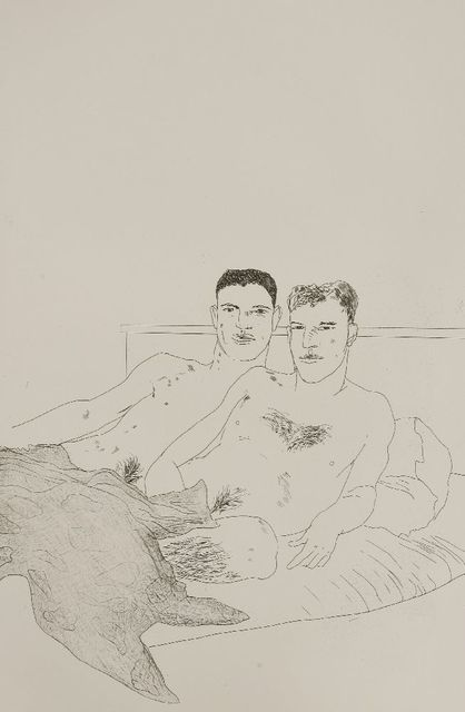 David Hockney, 'The Beginning (Sac 55)', 1966, Sworders