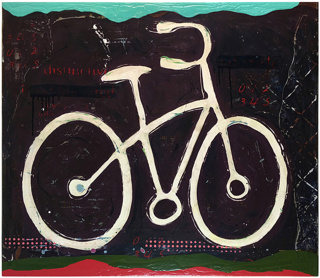 John Randall Nelson, 'An Animate Brand of Mobility', 2016, Mixed Media, Mixed media on panel, Sue Greenwood Fine Art