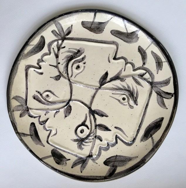 Pablo Picasso, 'Quatre Profils Enlacés (Four Enlaced Profiles)', 1949, MICHALI GALLERY