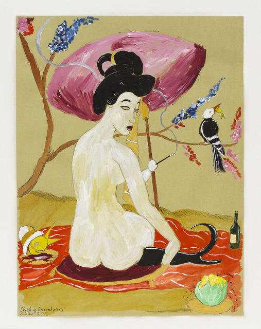 , 'Sketch of Oriental Picnic,' 2013, Nanzuka