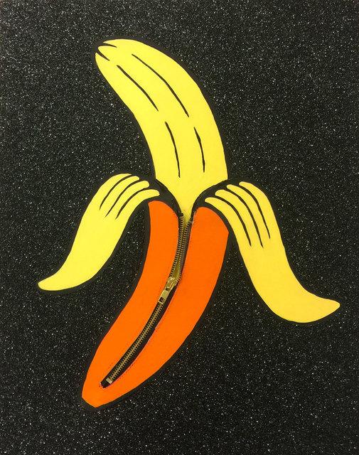 , 'Banana Unzipped (Yellow),' 2016, Lawrence Alkin Gallery