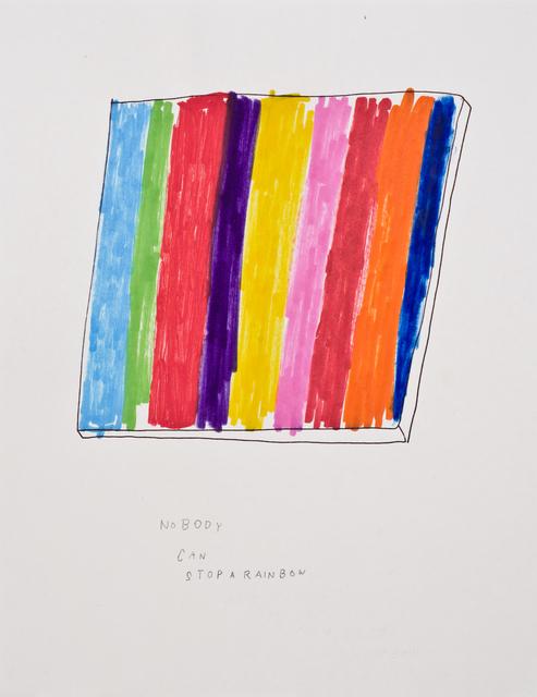 Jim Torok, 'Nobody Can Stop a Rainbow #2', 2015, Lora Reynolds Gallery