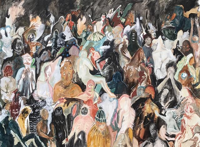 , 'Apparitions in a Crowd,' 2014, Bau-Xi Gallery