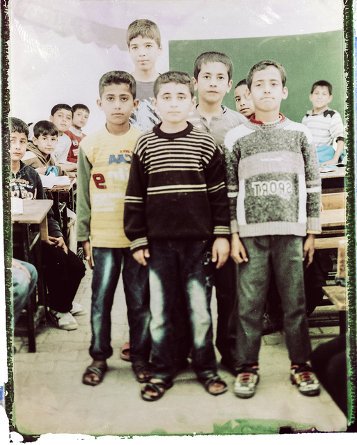 , 'Sixth Grade Students. From Soliman's Tent Series, Adana Turkey,' 2014-2015, Hafez Gallery