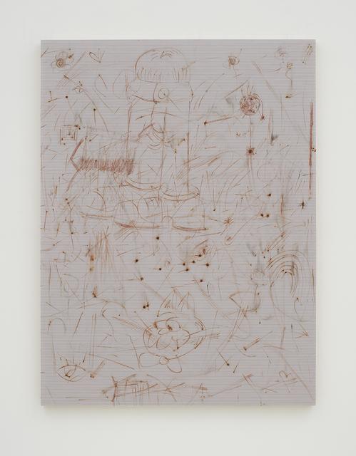 , 'Ohne Titel (Reibfläche),' 2016, NINO MIER GALLERY