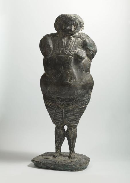 , 'Standing Figure,' 1957, Pangolin