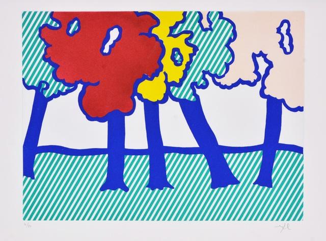 Roy Lichtenstein, 'Illustration for 'Or Automnal: Arrière-Saison en Nouvelle Angleterre', from La Nouvelle Chute de l'Amérique', 1992, Shapero Modern