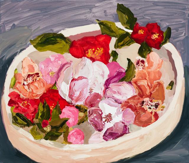 , 'Bowl of Flowers,' 2015, Olsen Irwin