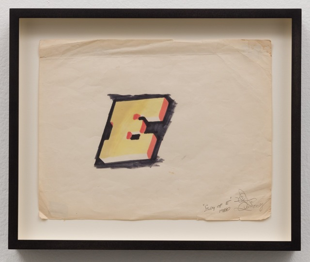 , 'Study of E,' 1980, Charlie James Gallery
