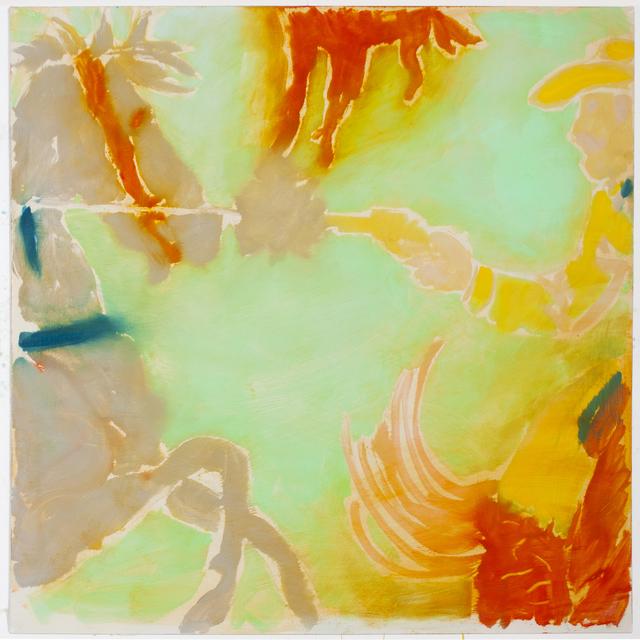 , 'Boom, (Yellow Against Horse),' 2014, Anna Zorina Gallery