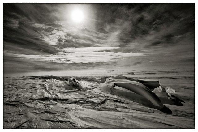 , 'Sastrugi One – S72°37 E010°37, Antarctica,' 2011, Bernheimer Fine Art