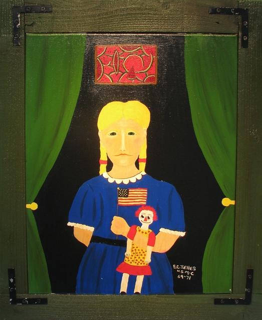 , 'Girl With Doll,' 2014, Beth Urdang Gallery