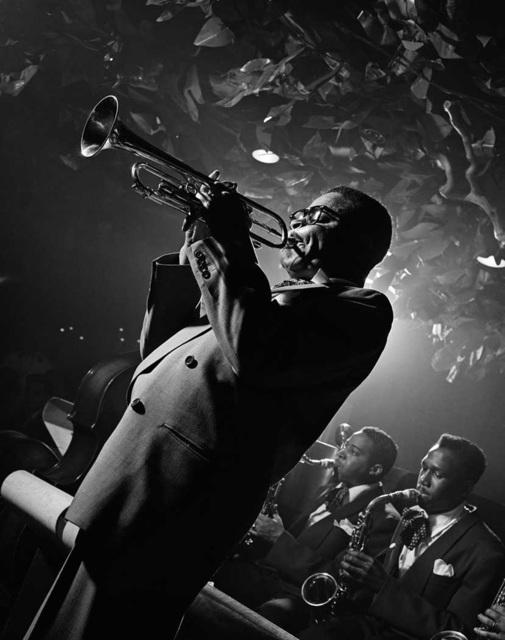 , 'Dizzy Gillespie, NYC,' 1953, Robert Mann Gallery