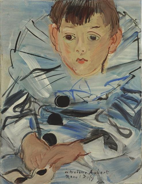 , 'Portrait de Claude Moulon en habit de Pierrot,' 1935, Opera Gallery