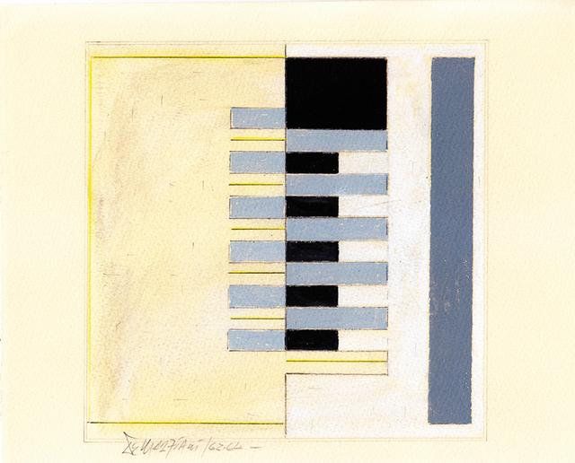 , 'Planos 101 A,' 1962, Galería del Paseo