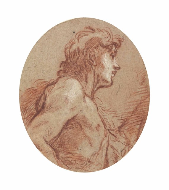 , 'Saint John the Baptist, half-length, in profile facing to the right,' , Christie's Old Masters