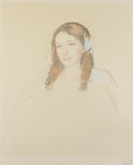 , 'Head of Adele (No. 3),' ca. 1908, Adelson Galleries