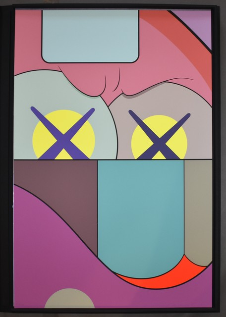 KAWS, 'Ups and Downs 1', 2013, Print, Screenprint on Saunders Waterford High White paper, Georgetown Frame Shoppe