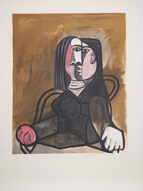 Pablo Picasso, 'Femme Assise dans un Fauteuil, 1943', 1979-1982, Print, Lithograph on Arches paper, RoGallery