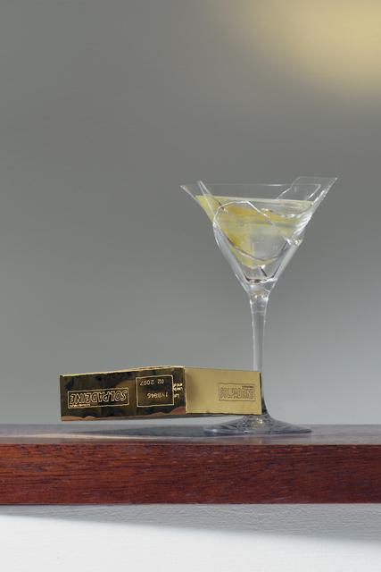 , 'Martini vs. Solpadeine,' 2017, Cob
