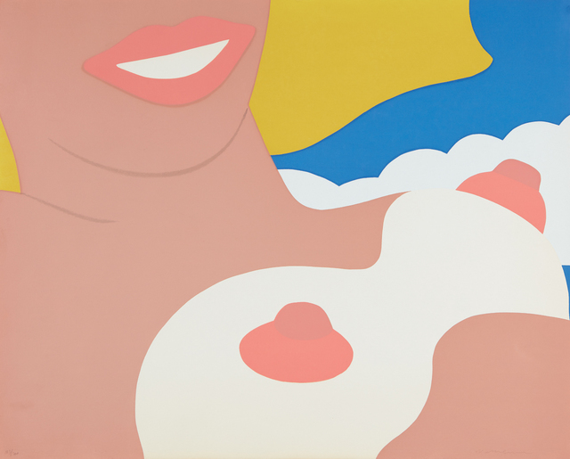 Tom Wesselmann, 'Nude, from 11 Pop Artists, Volume II', 1965, Print, Screenprint in colors, on wove paper, the full sheet, Phillips
