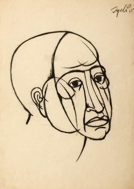 , 'Head,' 1955, AkaraArt