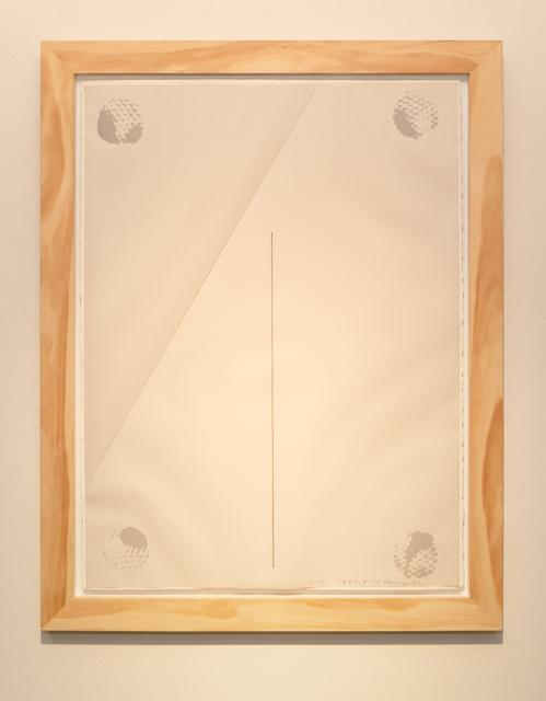 Noriyuki Haraguchi, 'Work on Paper 7 Gesture', 2019, Asia Art Center