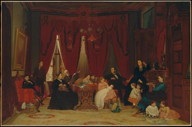 Eastman Johnson, 'The Hatch Family', 1870–1871, The Metropolitan Museum of Art
