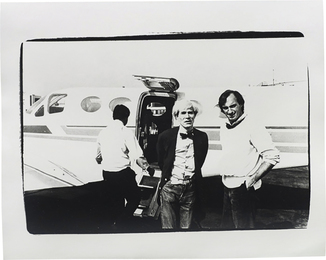 Andy Warhol, 'Andy Warhol and Jon Gould,' ca. 1978, Phillips: New Now (December 2016)