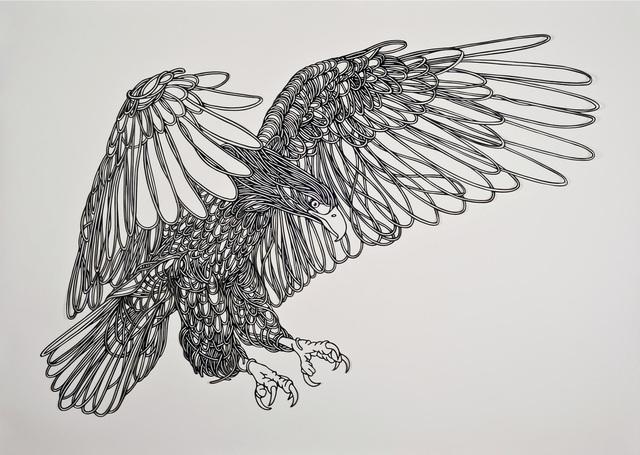 , 'Black Eagle,' 2014, Victor Lope Arte Contemporaneo