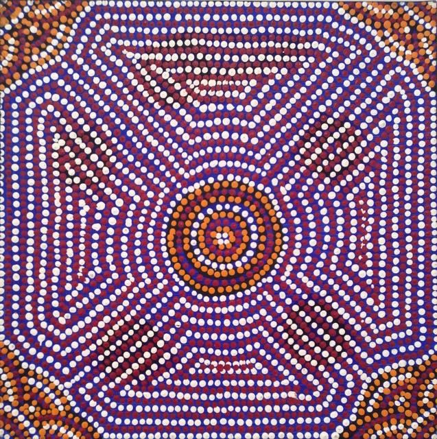 , 'Lukarra Jukurrpa (Desert Fringe-rush Seed Dreaming),' , Rebecca Hossack Art Gallery