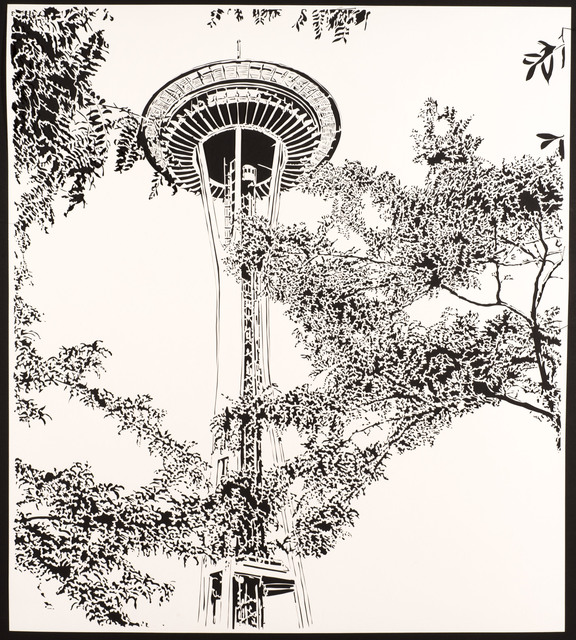 , 'Space Needle, 1964,' 2016, Davidson