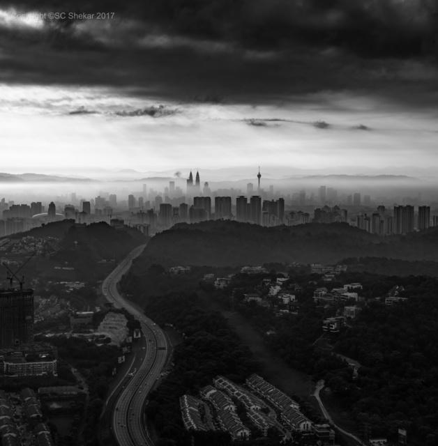 , 'Kuala at Dawn,' 2017, SCShekar