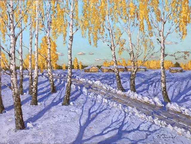, 'Path to the Village,' , Paul Scott Gallery & galleryrussia.com