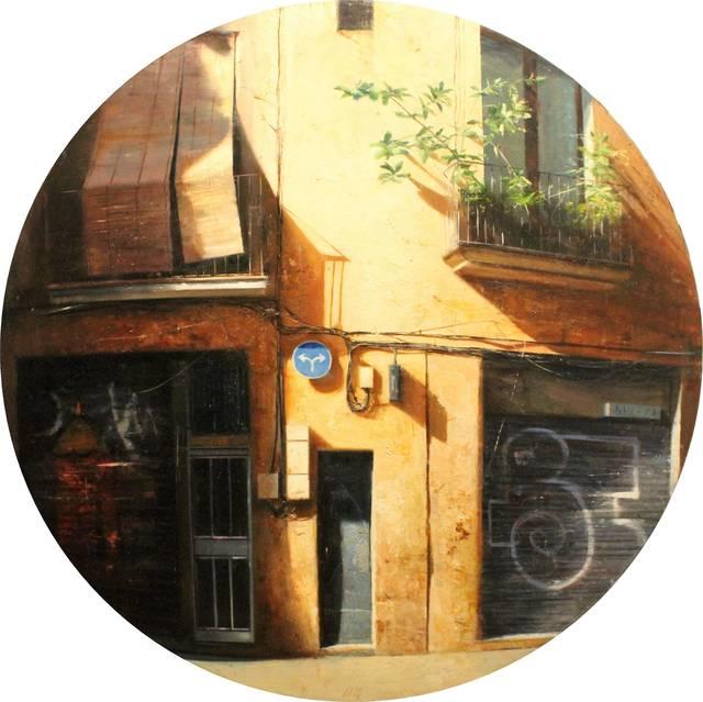 , 'Façana del gótic,' 2018, Anquins Galeria