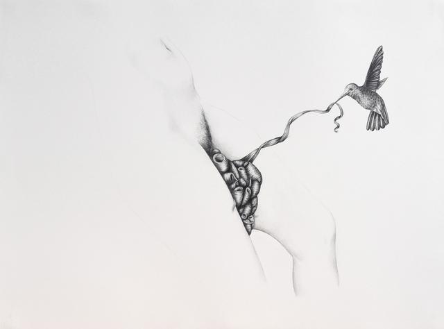 , 'Figure and Hummingbird,' 2011, Hosfelt Gallery