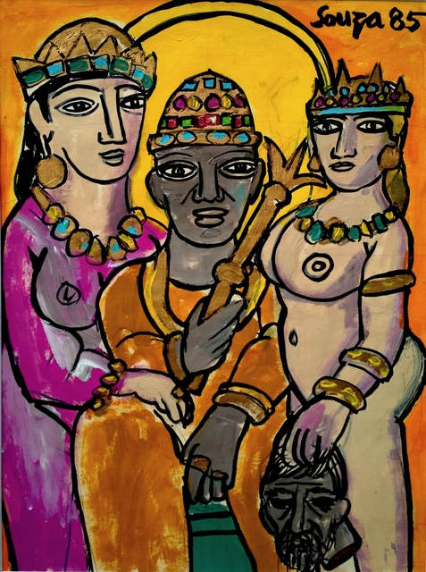 , 'Salome with the Head of John Baptist ,' 1985, Art Pilgrim