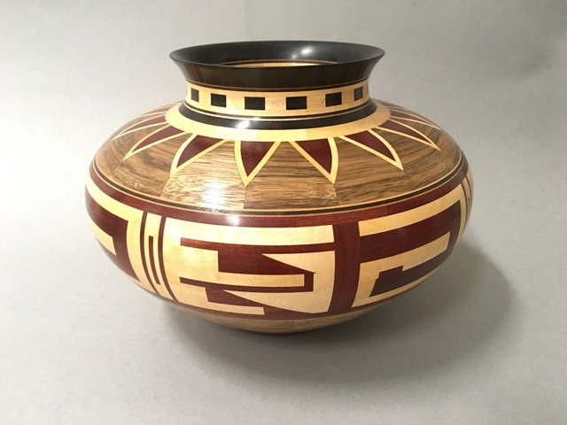 Ray Allen, 'Untitled Segmented Vessel', ca. 1995, Beatrice Wood Center for the Arts