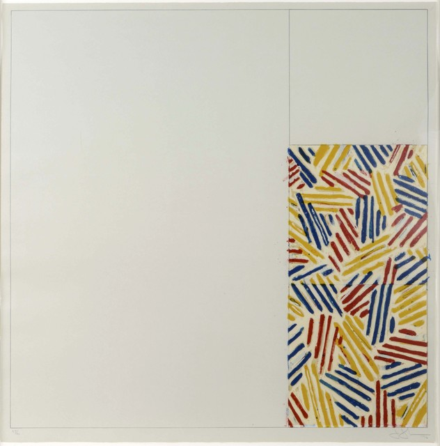 Jasper Johns, '#4 (After Untitled 1975)', 1976, Leslie Sacks Gallery