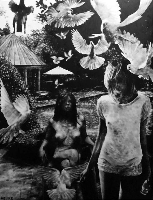 , 'Love homies,' 2018, Bernhard Knaus Fine Art