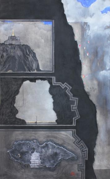 Christian de Laubadère 麓幂, 'Landscape A', 2014, ArtCN