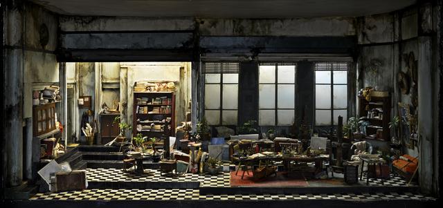 , 'L'atelier de Cornelius Schoonbeke, à Nantes,' 2016-2017, Antonine Catzéflis