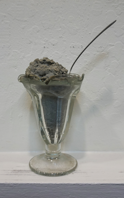 , 'Untitled (Concrete Sundae in Glass Dish),' , Anglim Gilbert Gallery