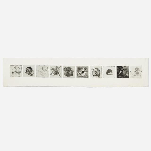 Judy Pfaff, 'Nella Popilla', 1992, Print, Drypoint, spitbite and sugar lift aquatint on paper, Rago/Wright