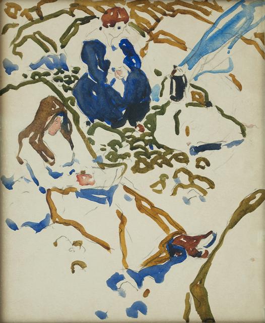 , 'Picnic,' 1913, Canadian Fine Arts
