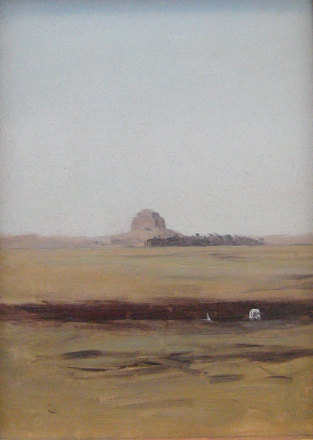 Lockwood de Forest, 'Looking Towards the Maidum Pyramid, Egypt (Day)', 1878, Edward Cella Art and Architecture