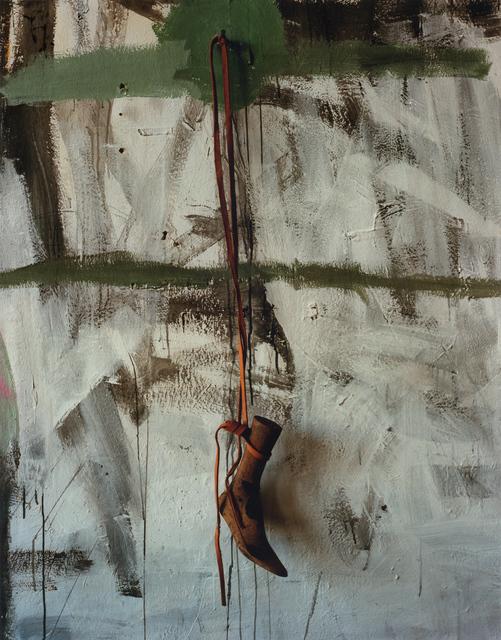 , 'Untitled #315 (Wooden Foot),' 2017, Anton Kern Gallery